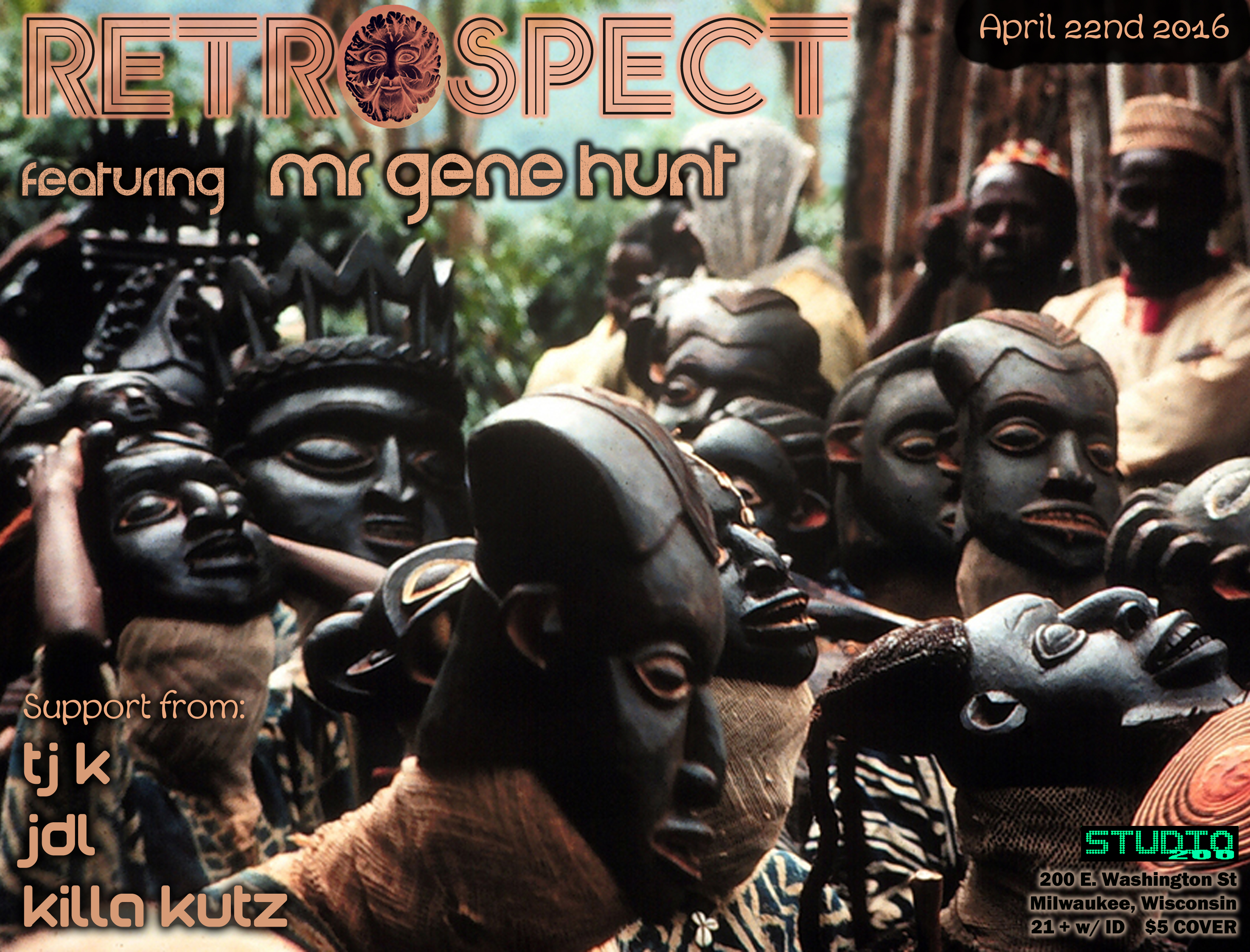 Click Here To PLAY via MOBILE or RIGHT CLICK/SAVE AS to DOWNLOAD – Gene  Hunt – Live @ Retrospect 4-22-2016